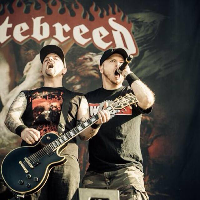 Photo taken from the Hatebreed Facebook page