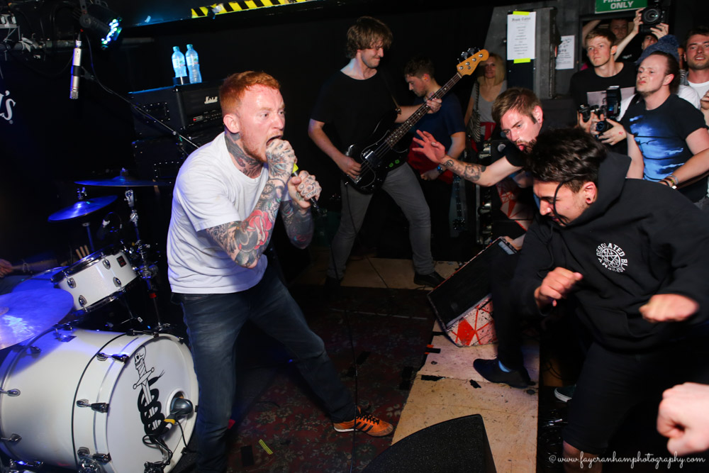 Frank Carter and The Rattlesnakes @ Sticky Mikes Frog Bar, Brighton.
