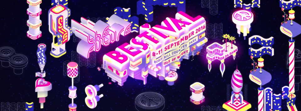 Photo taken from the Bestival Facebook page