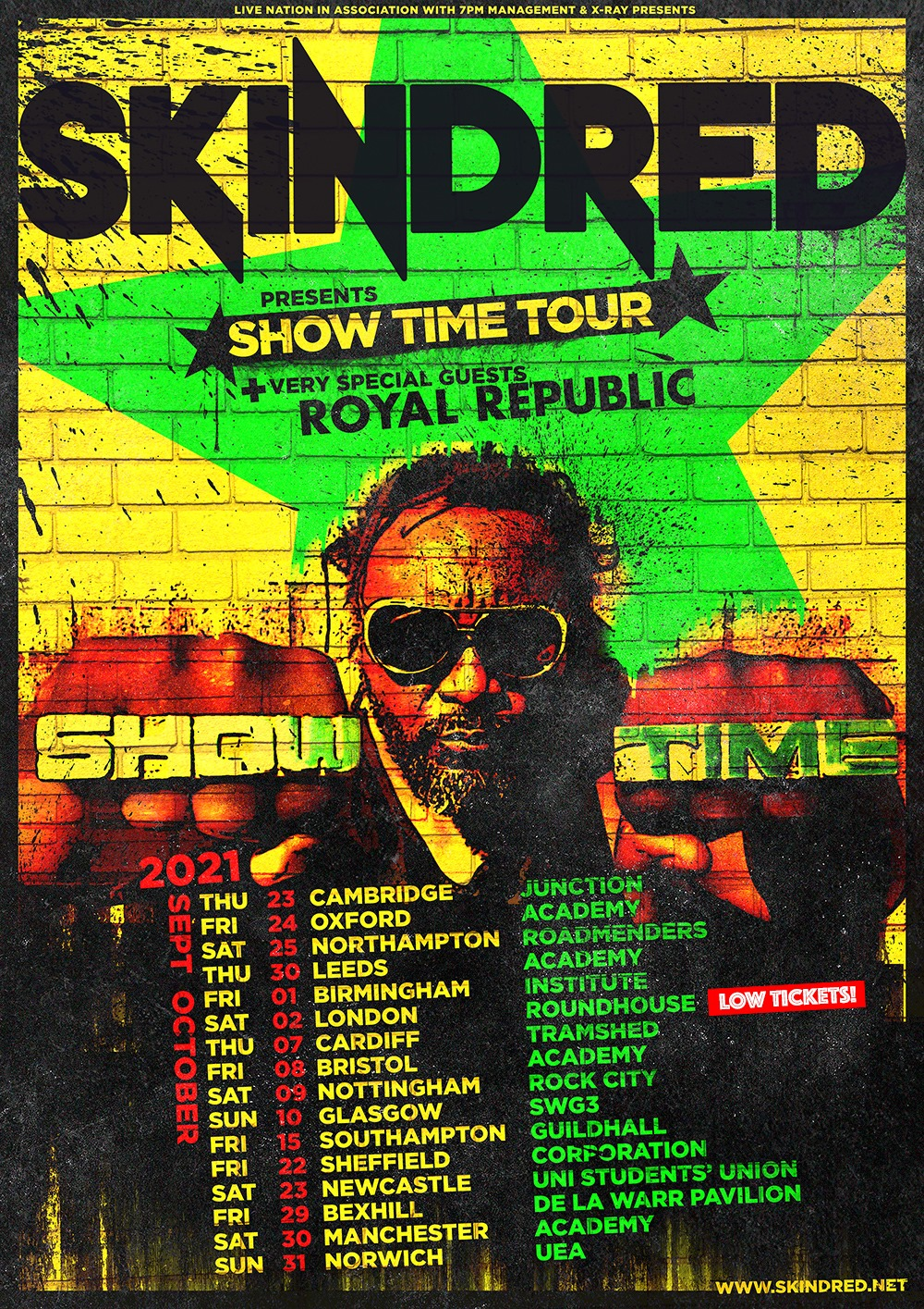 Skindred Show Time Tour At The Roundhouse London Review