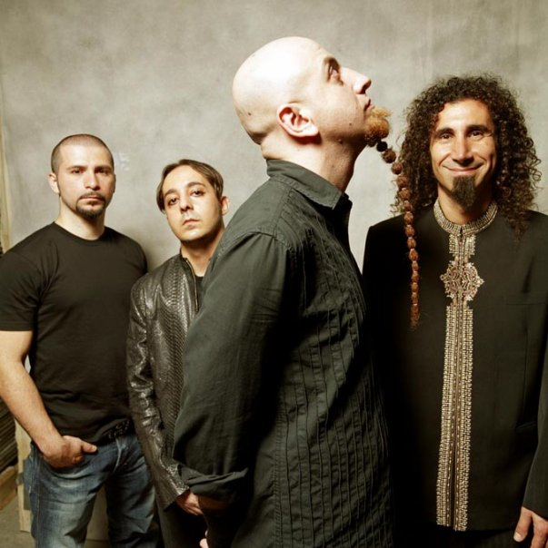 Photo taken from the System Of A Down Facebook page